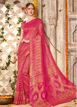 Brasso Georgette Contemporary Style Saree
