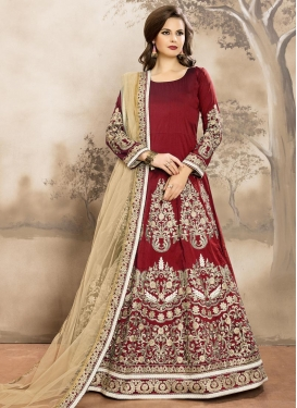 Breathtaking Long Length Anarkali Salwar Suit