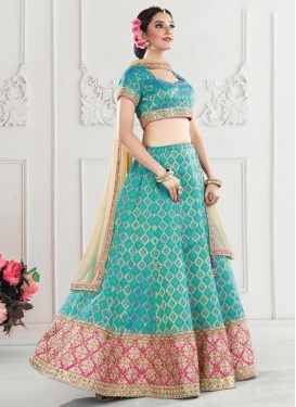 Breathtaking Silk Trendy Lehenga For Party