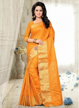 Brilliant Thread Work  Traditional Saree