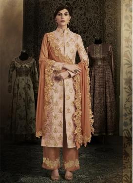 Brocade Pant Style Designer Salwar Kameez