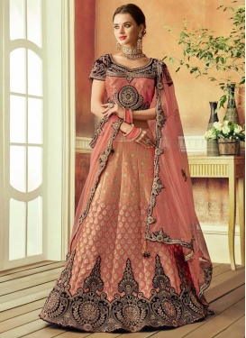 Brocade Trendy Lehenga Choli For Bridal