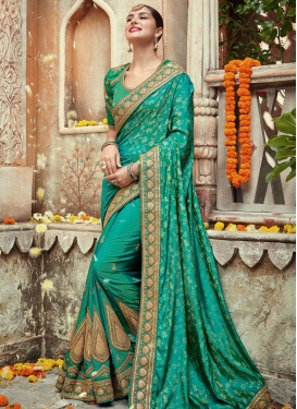 Catchy Designer Traditional Saree For Ceremonial
