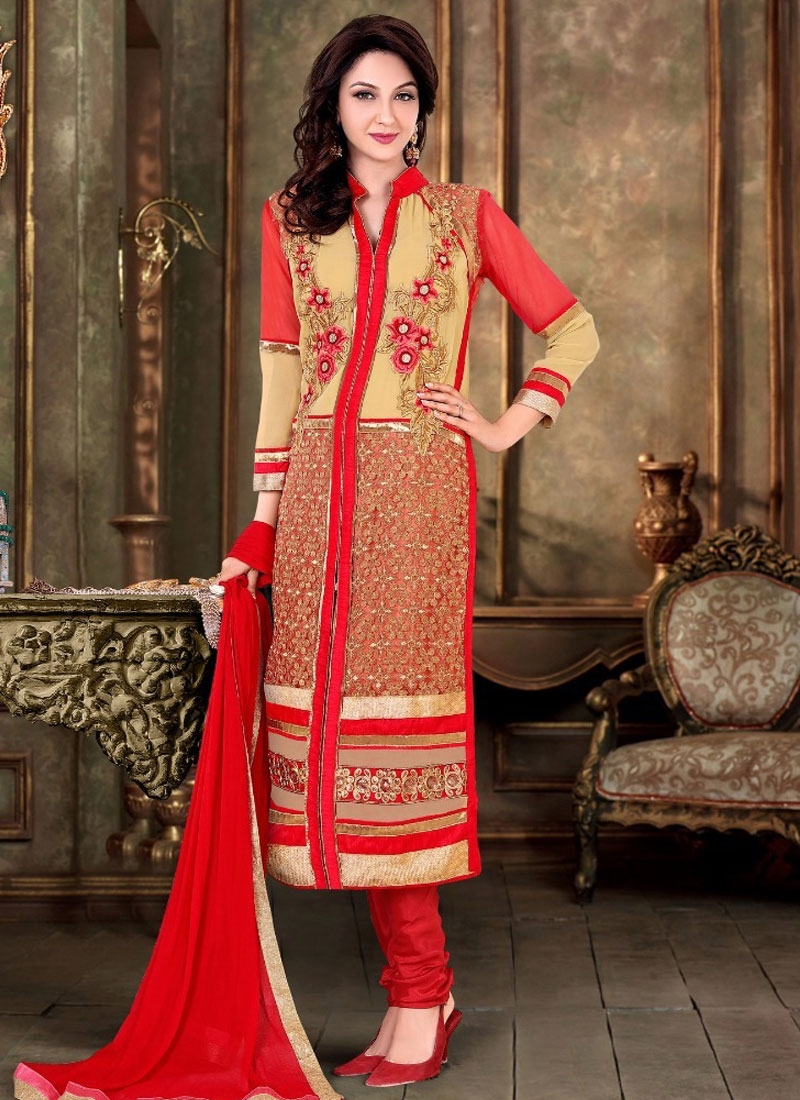 Celestial Embroidery Work Party Wear Salwar Kameez