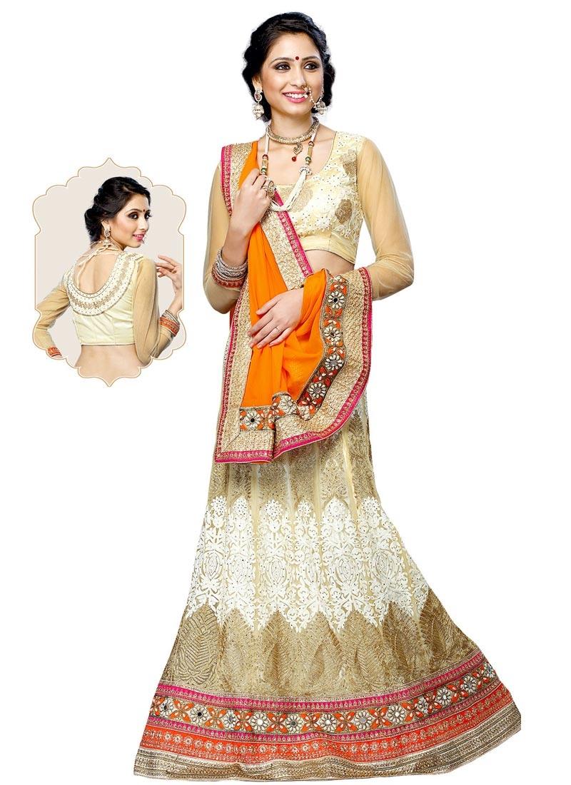 Celestial Stone Work Net Wedding Lehenga Choli