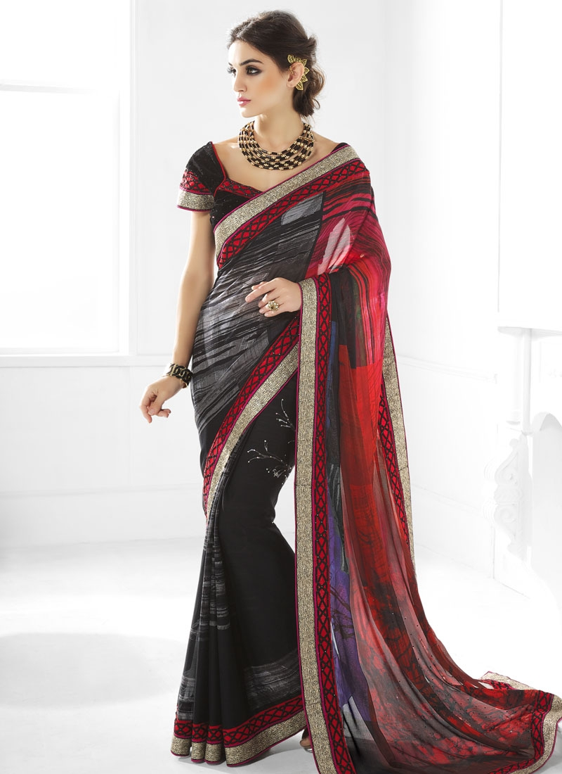 Celestial Stone Work Party Wear Saree