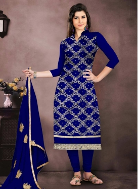 Chanderi Cotton Designer Pakistani Salwar Suit