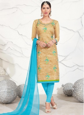 Chanderi Cotton Trendy Salwar Kameez For Casual