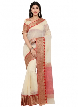 Chanderi Cotton Trendy Saree