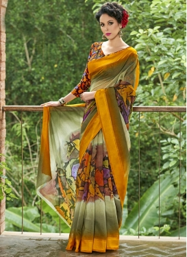 Chanderi Silk Traditional Saree