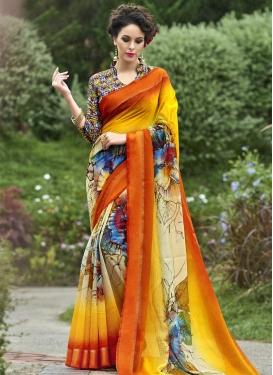 Chanderi Silk Trendy Classic Saree