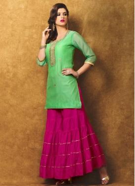 Chanderi Silk Trendy Designer Salwar Kameez