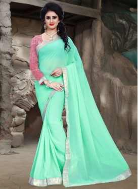 Charismatic Faux Georgette Casual Saree
