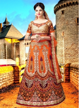 Charismatic Resham Work Bridal Lehenga Choli