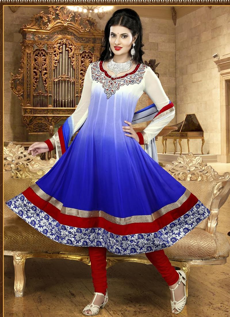 Charismatic Stone Enhanced Anarkali Suit
