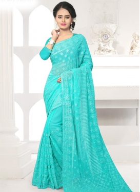 Charming Contemporary Saree For Festival