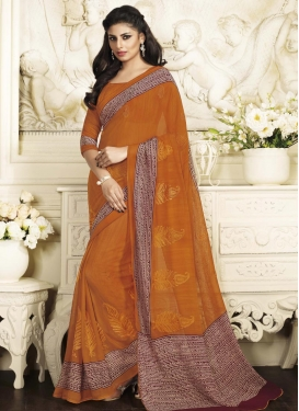 Charming Contemporary Style Saree For Ceremonial