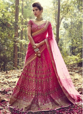 Cherubic Embroidered Work Trendy Lehenga Choli