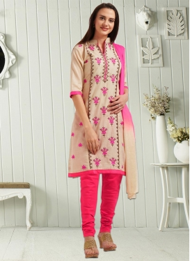 Churidar Punjabi Suit For Casual