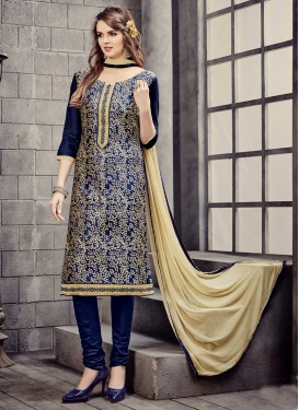 Churidar Salwar Suit For Ceremonial