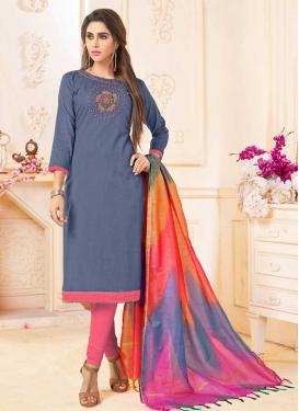 Churidar Salwar Suit For Ceremonial
