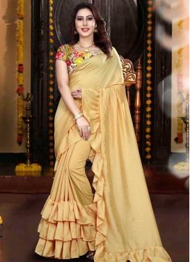 Classic Designer Saree For Ceremonial