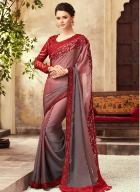 Classic Designer Saree For Festival