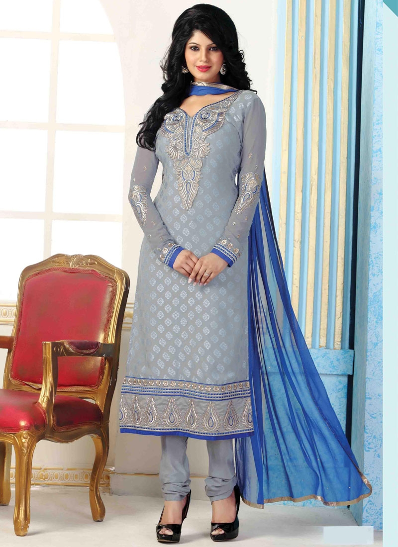 Classical Lace Work Punjabi Suit
