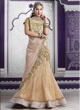 Classical Lehenga Style Saree