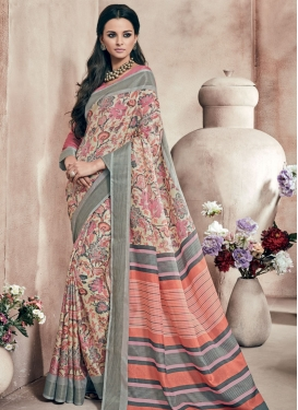 Compelling Art Silk Casual Saree