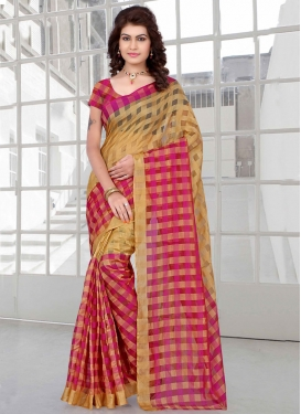 Compelling Art Silk Printed Casual Saree