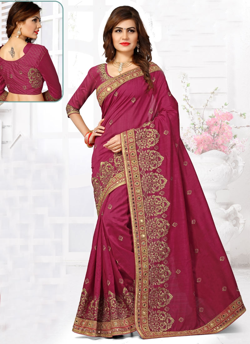 Compelling Lace And Booti Work Designer Saree