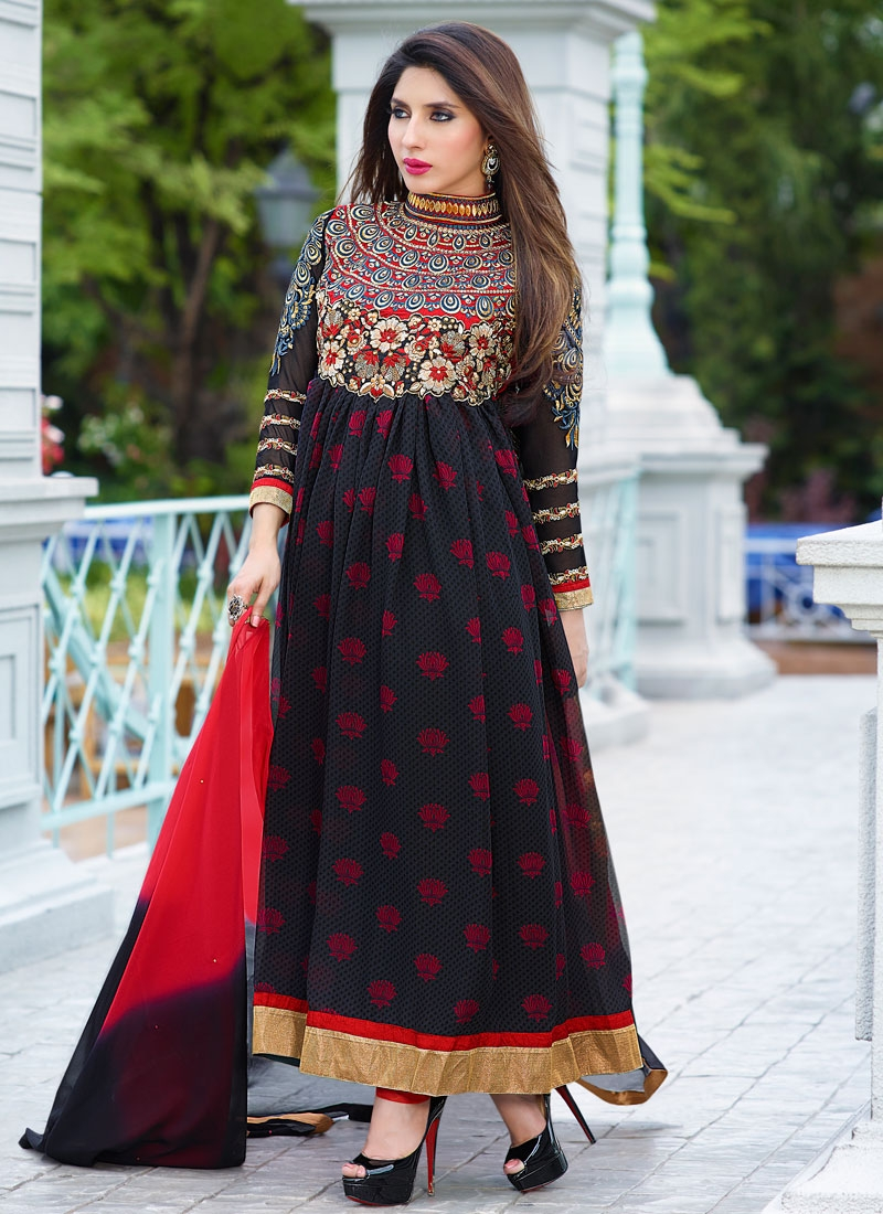 Congenial Printed Long Length Designer Salwar Suit