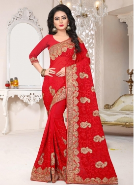 Contemporary Saree For Bridal