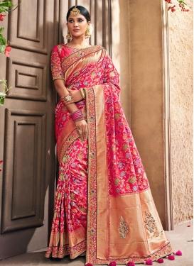 Contemporary Saree For Bridal