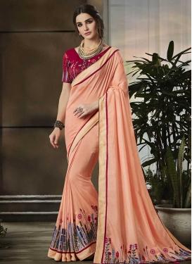 Contemporary Style Saree For Ceremonial