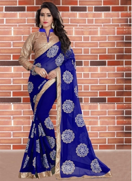 Contemporary Style Saree For Festival