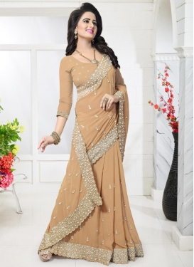 Contemporary Style Saree For Party