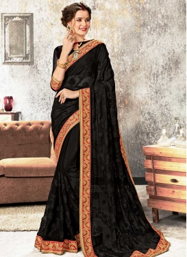 Cord Work Designer Contemporary Style Saree