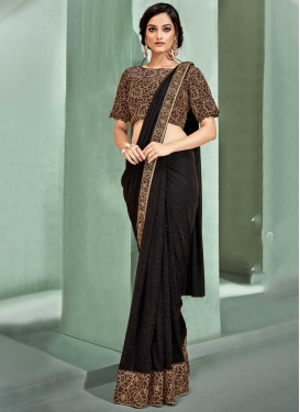 Cord Work Trendy Classic Saree