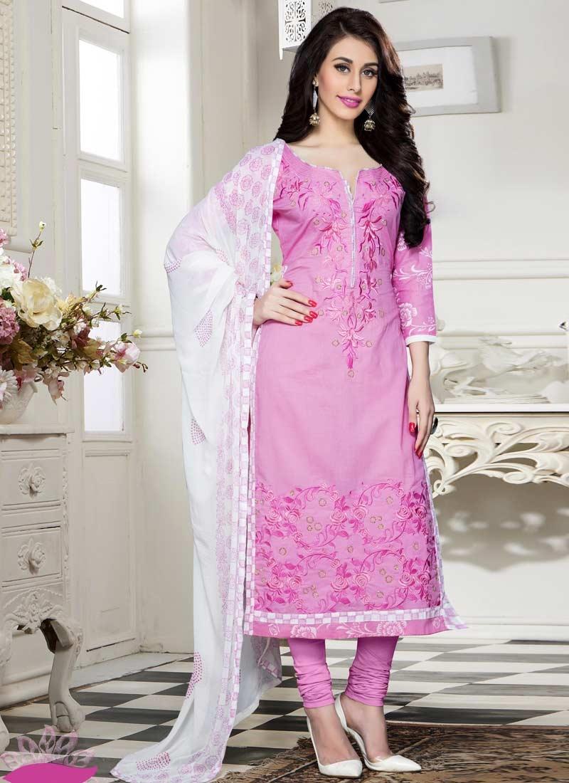 Cotton Churidar Salwar Kameez