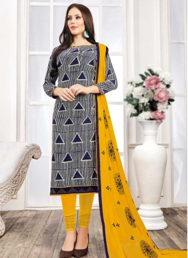 Cotton Churidar Salwar Kameez