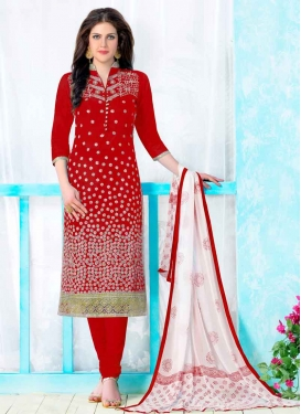 Cotton Churidar Salwar Suit For Festival
