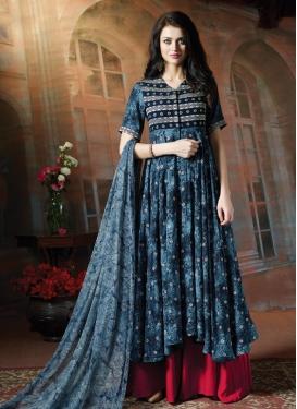 Cotton Designer Palazzo Salwar Kameez For Festival