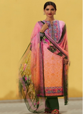 Cotton  Long Length Pakistani Salwar Suit