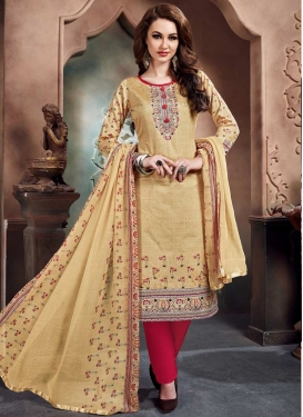 Cotton Pant Style Classic Salwar Suit For Ceremonial