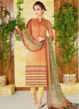 Cotton Pant Style Pakistani Suit