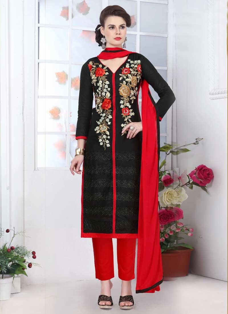 Cotton Pant Style Salwar Kameez
