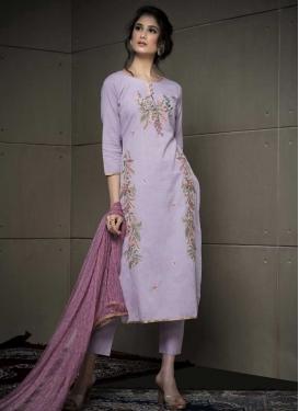 Cotton Pant Style Salwar Suit