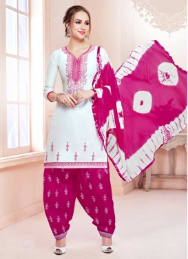 Cotton Patiala Salwar Kameez